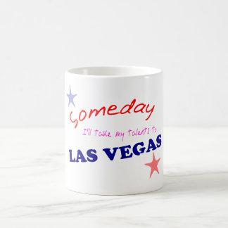 Las Vegas - algún día Taza Básica Blanca