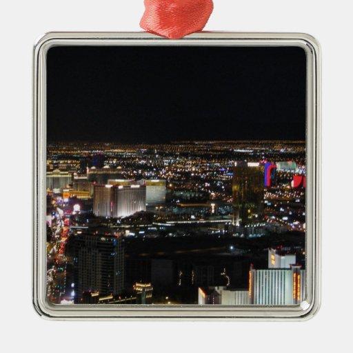 Las Vegas en la noche Adorno