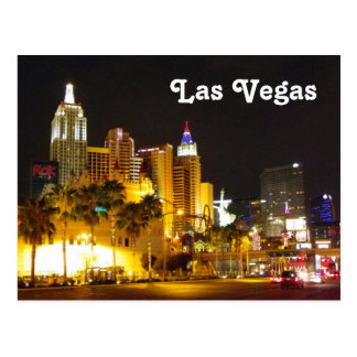 ¡Las Vegas en la postal de la noche!