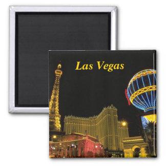Las Vegas Imán Cuadrado