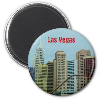 Las Vegas Imán Redondo 5 Cm