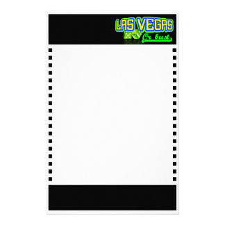 Las Vegas inmóvil personalizable Papeleria De Diseño