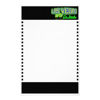 Las Vegas inmóvil, personalizable Papelería Personalizada