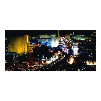 Las Vegas la tira en la noche Lonas Personalizadas