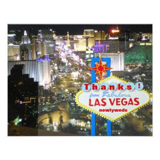 Las Vegas le agradece los recienes casados Comunicados Personales