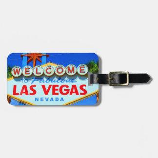 Las Vegas modificó la etiqueta del equipaje para