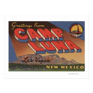 Las Vegas, New México - campo Luna Postal