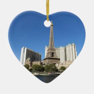 Las Vegas - París París Ornamentos De Navidad