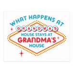 Las Vegas permanece en la abuela Postal