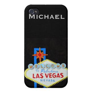 Las Vegas personalizó iPhone 4/4S Carcasa