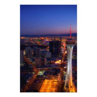 Las Vegas por la noche 5 Papeleria