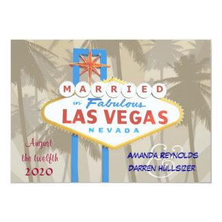Las Vegas que casa invitaciones Invitación 12,7 X 17,8 Cm