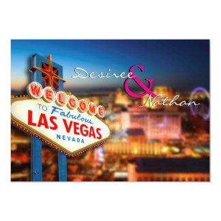 Las Vegas que casa la invitación