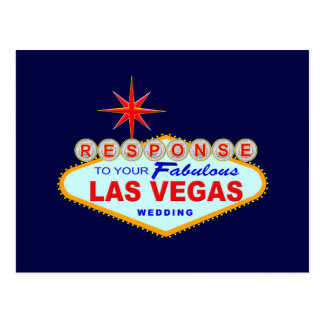 Las Vegas que casa la tarjeta 1 (postal) de la