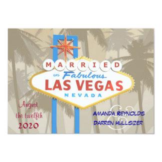 """Las Vegas que casa las invitaciones - 4,5"""" x 6,25"""" Invitación 11,4 X 15,8 Cm"""