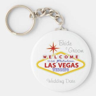 Las Vegas que casa llavero del recuerdo