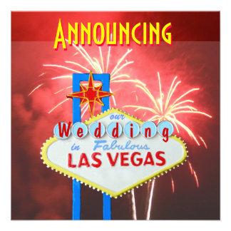Las Vegas que casa los fuegos artificiales Anuncio