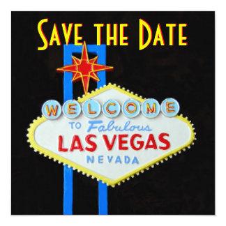 Las Vegas que casa reserva la invitación de la Invitación 13,3 Cm X 13,3cm