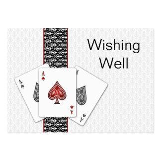 Las Vegas que se casa deseando tarjetas bien Plantillas De Tarjetas De Visita