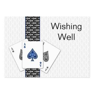 Las Vegas que se casa deseando tarjetas bien Tarjetas De Negocios
