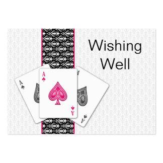 Las Vegas que se casa deseando tarjetas bien Tarjetas De Visita