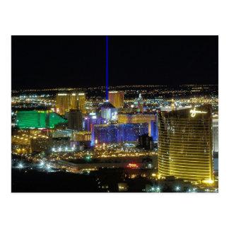 Las Vegas tira visión aérea postales de marzo de