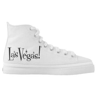¡Las Vegas! Zapatos del top del alto de Zipz