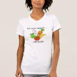 ¡las verduras, comen sus veggies ....., ..... O Camisetas