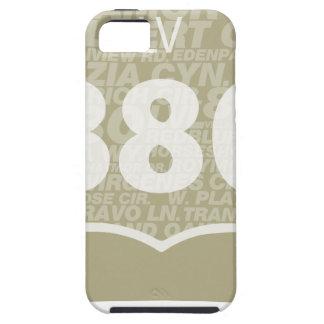 Las Virgenes - blanco del LV 880 difundido iPhone 5 Case-Mate Cobertura