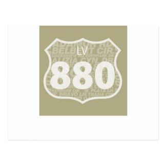 Las Virgenes - blanco del LV 880 difundido Postal