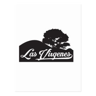 Las Virgenes - paisaje Postal