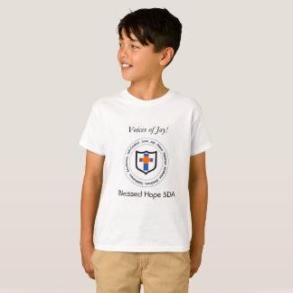 Las voces bendecidas de la esperanza de la alegría camiseta