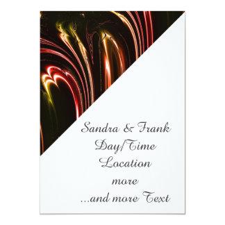 laserArt 11 (l) Invitación 12,7 X 17,8 Cm