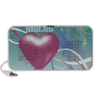latido del corazón de la música iPhone altavoces
