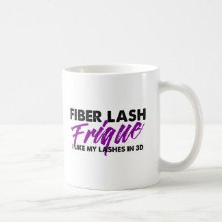Latigazo Frique - taza de la fibra de café