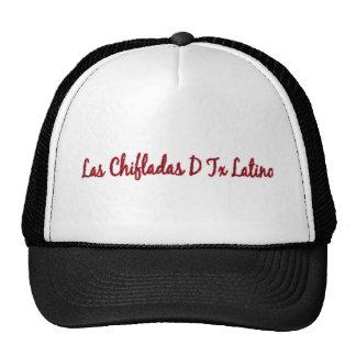 ¡Latino de Las Chifladas D Tejas!! Gorros Bordados