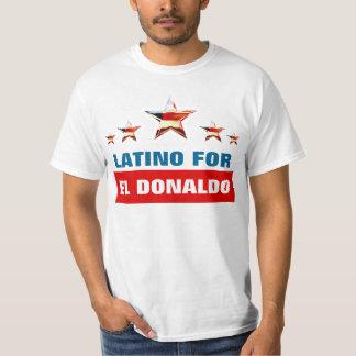 Latino para el EL Donaldo Camiseta