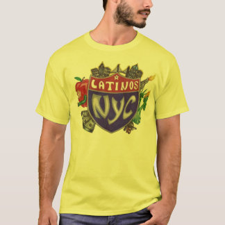 Latinos NYC Camiseta