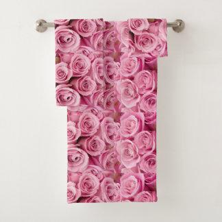 Lavado en rosas rosados