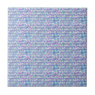 Lavanda, azul, baldosa cerámica 2 del mosaico