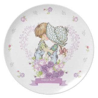 Lavanda de la placa #3 de la porcelana de Sarah Plato