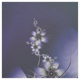 Lavanda etérea floral tela