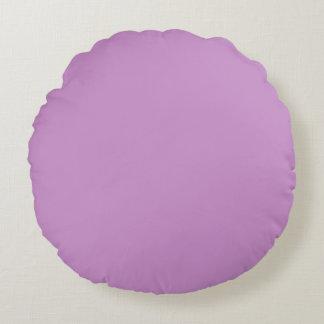 Lavanda púrpura cojín redondo