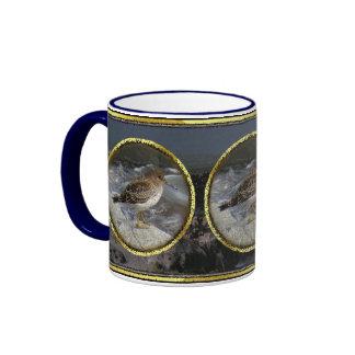 Lavandera de la roca (ptilocnemis del Calidris) Tazas De Café
