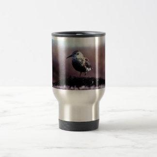 Lavandera de la roca taza de café
