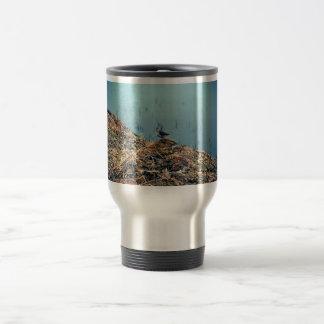 Lavandera de la roca tazas de café