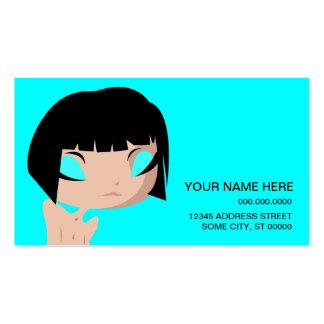 layla triste tarjeta de visita