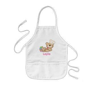 Laylas personalizó el delantal