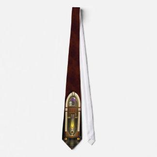 Lazo 2 de la máquina tocadiscos corbata