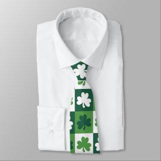 Lazo afortunado del trébol corbata personalizada